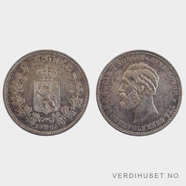 Bilde av 2 Kr 1902 Kv g1+