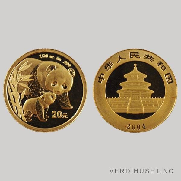 Bilde av 20 Yuan 2004 - Panda