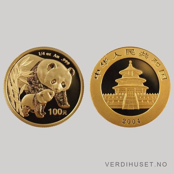 Bilde av 100 Yuan 2004 - Panda