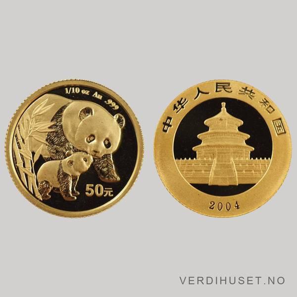 Bilde av 50 Yuan 2004 - Panda