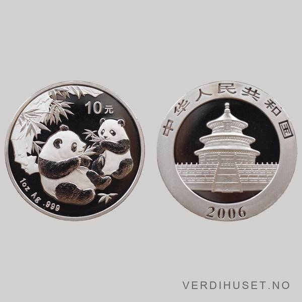 Bilde av 10 Yuan 2006 - Panda