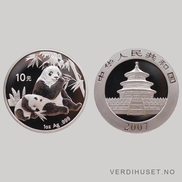 Bilde av 10 Yuan 2007 - Panda