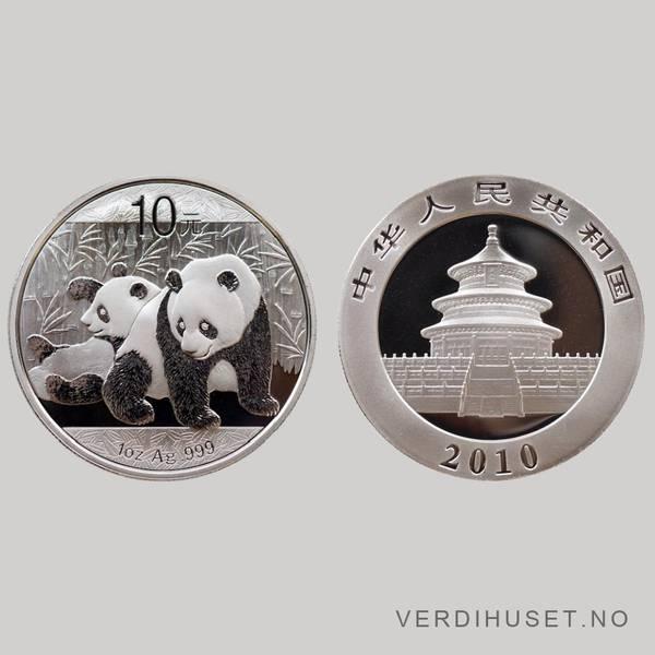 Bilde av 10 Yuan 2010 - Panda