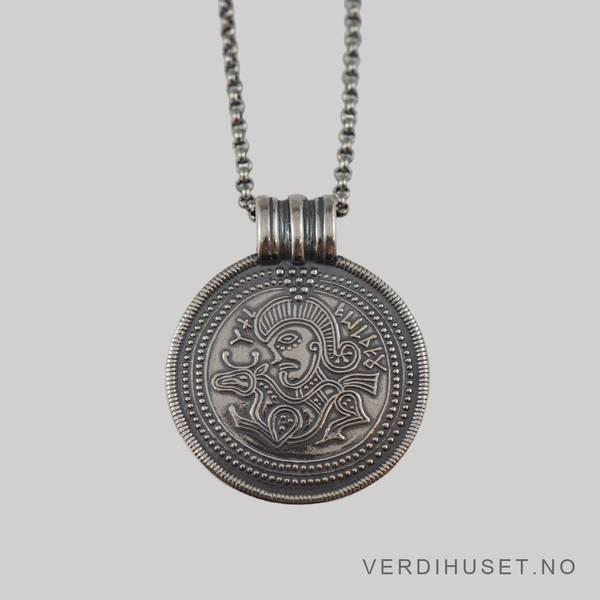 Bilde av Saga anheng i sølv -