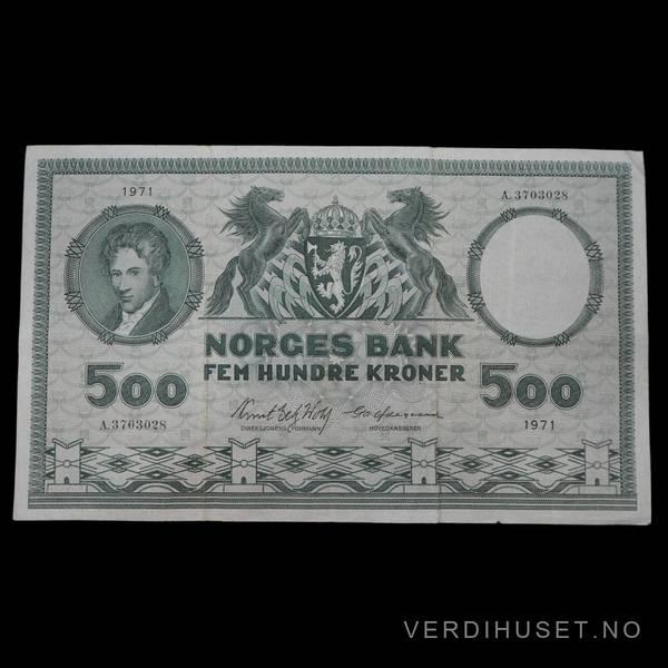 Bilde av 500 Kr 1971 A Kv 1 (A.3703028)