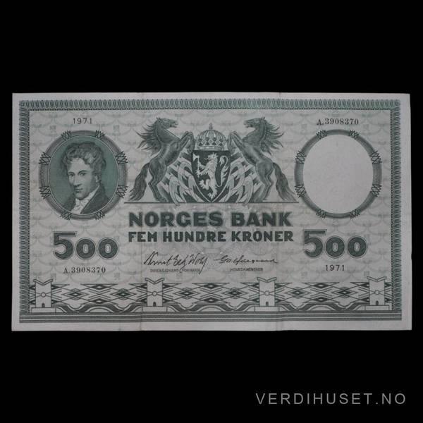 Bilde av 500 Kr 1971 A Kv 1 (A.3908370)