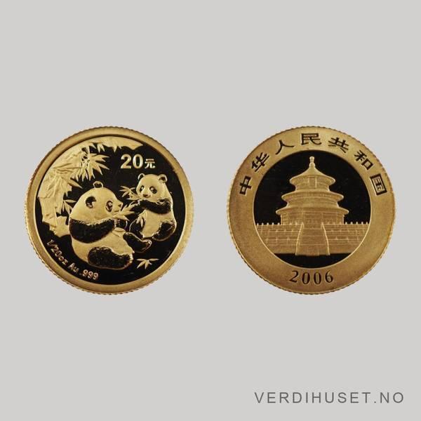 Bilde av 20 Yuan 2006 - Panda