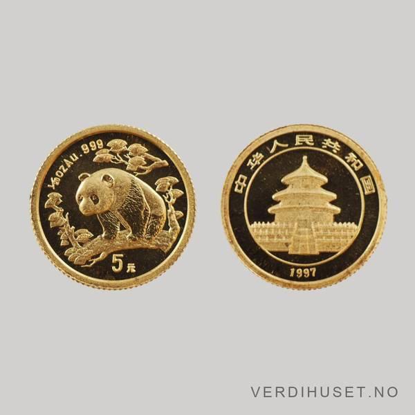 Bilde av 5 Yuan 1997 1/20 Oz - Panda