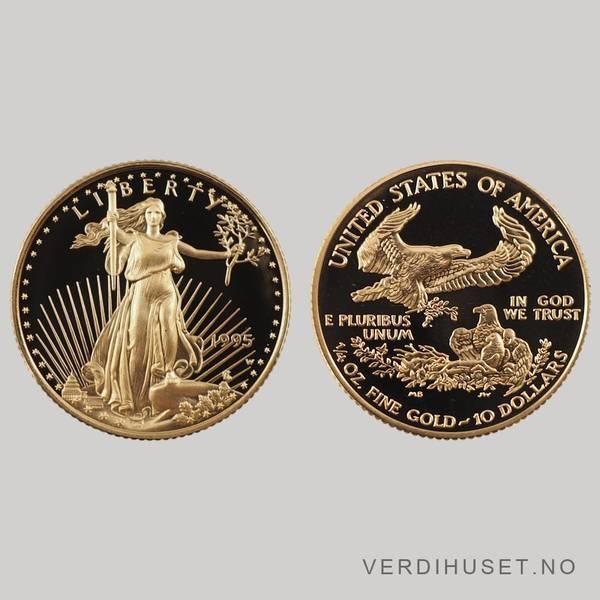 Bilde av 10 $ 1995 - Gold Eagle