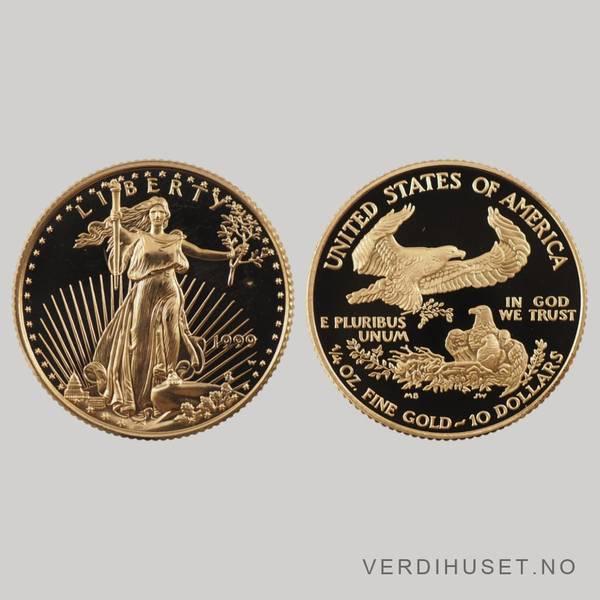 Bilde av 10 $ 1999 - Gold Eagle