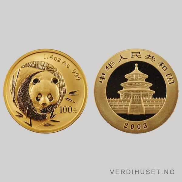 Bilde av 100 Yuan 2003 - Panda