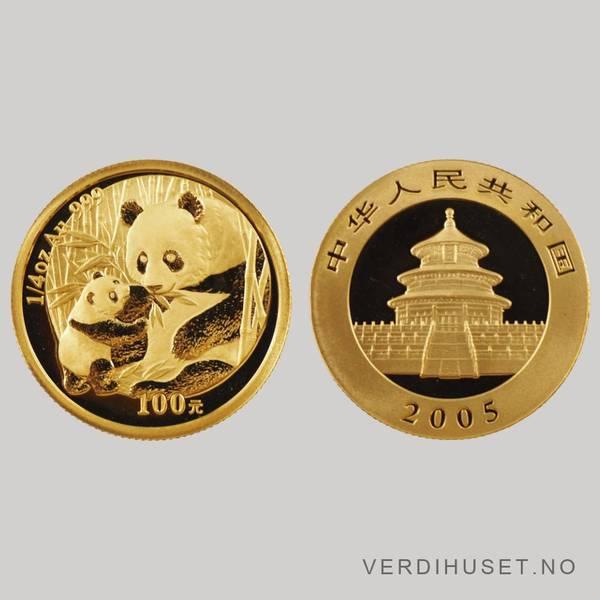Bilde av 100 Yuan 2005 - Panda