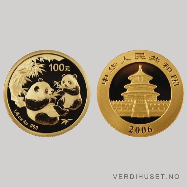 Bilde av 100 Yuan 2006 - Panda