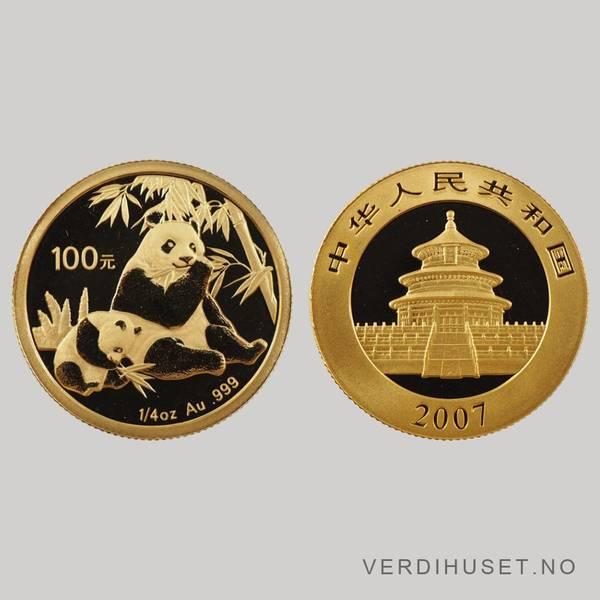 Bilde av 100 Yuan 2007 - Panda
