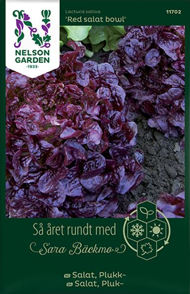 Bilde av Salat, Plukk- 'Red salad bowl'