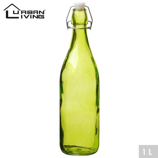 Bilde av Glassflaske 1 liter, grønn