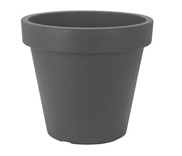 Bilde av Blomsterpotte, sort plast, Ø50, 370443