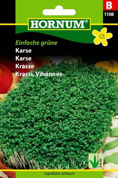 Bilde av Karse Einfache grüne(Lat: Lepidium sativum)