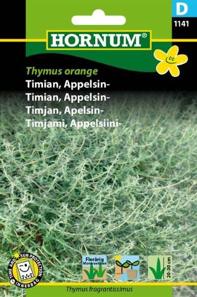 Bilde av Timian, Appelsin-Thymus orange(Lat: Thymus