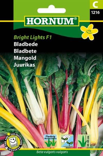 Bilde av Bladbete Bright Lights (Lat: Beta vulgaris