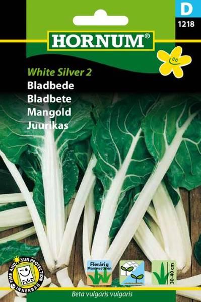 Bilde av Bladbete White Silver (Lat: Beta vulgaris