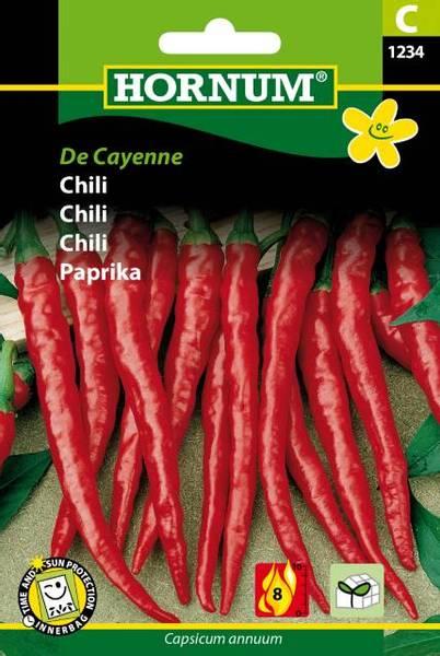 Bilde av Chili De Cayenne(Lat: Capsicum annuum)