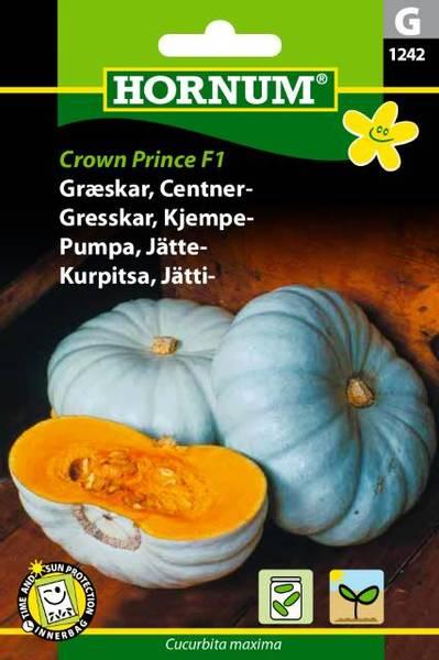 Bilde av Gresskar, Kjempe-Crown Prince  (Lat: Cucurbita