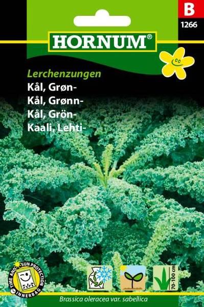 Bilde av Kål, Grønn-Lerchenzungen(Lat: Brassica oleracea