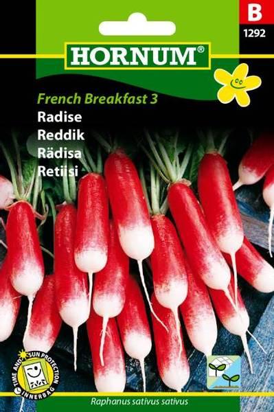 Bilde av ReddikFrench Breakfast 3(Lat: Raphanus sativus