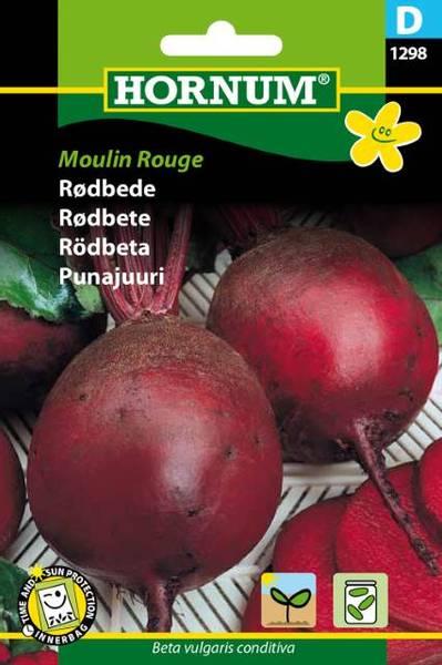 Bilde av Rødbete Moulin Rouge(Lat: Beta vulgaris