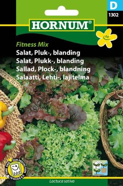 Bilde av Salat, Plukk-, blanding, Fitness Mix(Lat: Lactuca