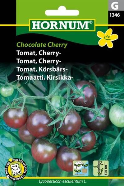 Bilde av Tomat, Cherry-Chocolate Cherry(Lat: Lycopersicon