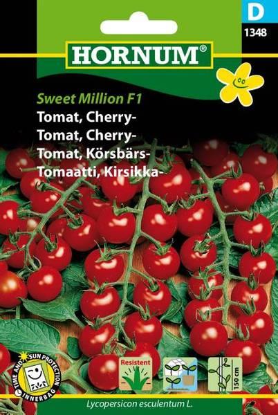 Bilde av Tomat, Cherry-Sweet Million  (Lat: Lycopersicon