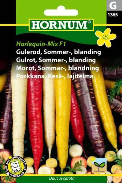 Bilde av Gulrot, Sommer-, blanding, Harlequin-Mix  (Lat: