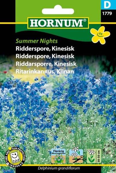 Bilde av Ridderspore, Kinesisk Summer Nights(Lat: