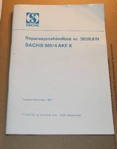 Bilde av Rep.håndbok, Sachs AKF