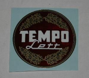Bilde av Dekal, Tempolett, liten