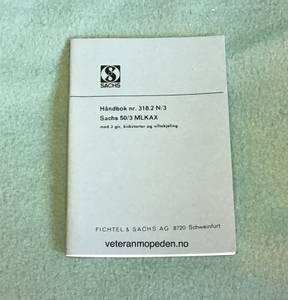 Bilde av Håndbok, MLKAX 3-girs håndgir