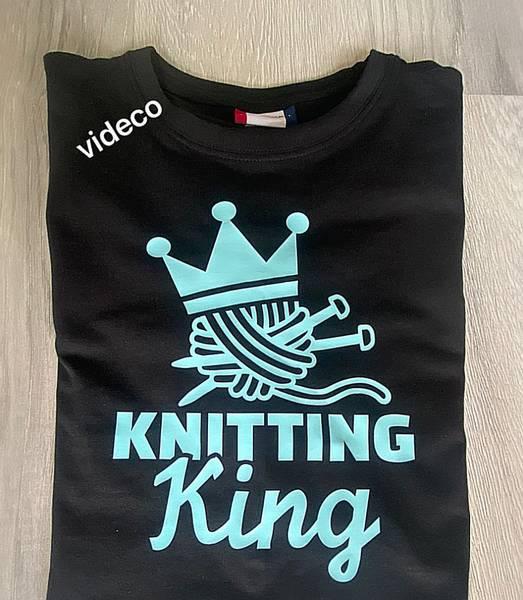 T-shirt , Knitting King