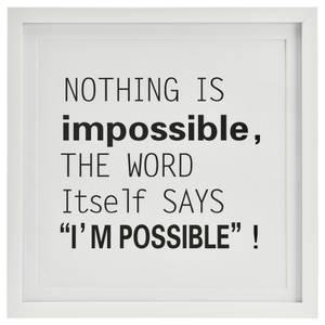 Bilde av Bilde- Nothing is impossible....