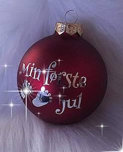 Bilde av Min første jul- julekule