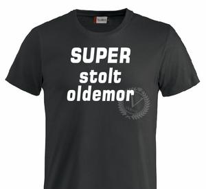 Bilde av T-shirt, SUPER stolt Oldemor