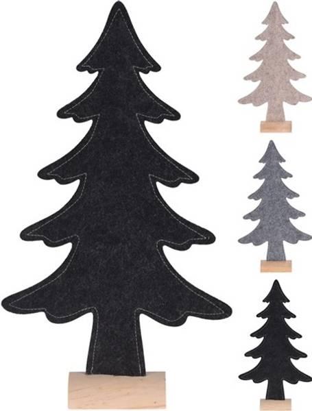 Juletre i filt - liten