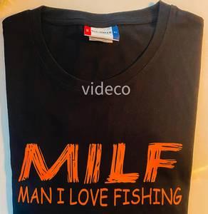 Bilde av T-shirt- MILF- Man i love fishing