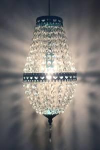 Bilde av Crystal pendel-Blå