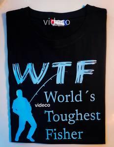 Bilde av T-shirt. WTF - Worlds toughest fisher