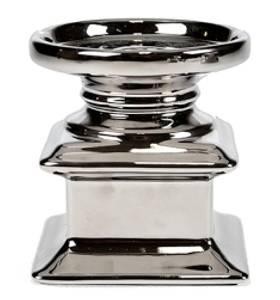 Bilde av Lysestake i sølv. (begge typer lys)
