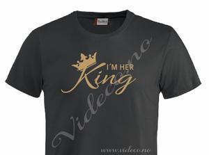 Bilde av tshirt - I´m her King