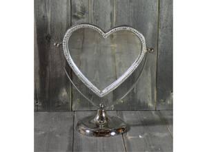 Bilde av Hjertespeil m/krystaller