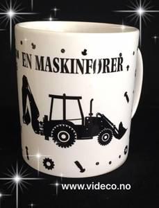 Bilde av Krus- Maskinfører-Traktor